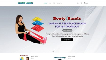 WordPress Website For Bootyloops